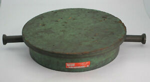 Monarch Tools 12 5 Round Machinist Lapping Plate Cast Iron Used