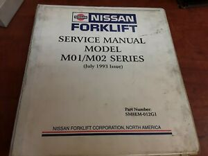 Nissan Forklift Service Manual For Model M01 m02 Series P n Sm8em 012g1