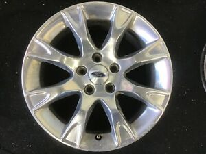 17 Ford Fusion Wheel 2011 2012 Polished Factory Oem Rim 3856