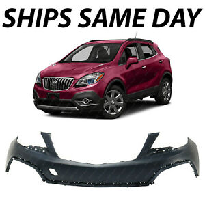 New Primered Front Upper Bumper Cover Fascia For 2013 2016 Buick Encore 13 16