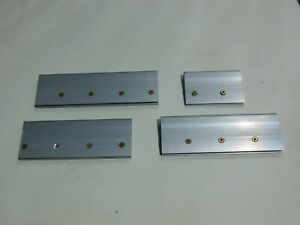 Adjustable Lightweight Aluminum Squeegee Handles Only 4 Pack Different Sizes