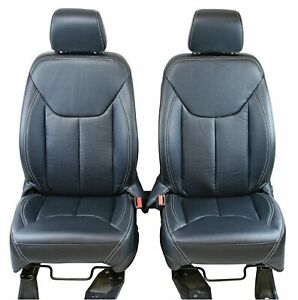 Jeep Wrangler 2013 2018 Leatherette Seat Covers Replacement Front