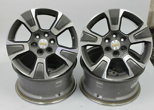 17 Wheels Chevy Colorado 2015 2016 2017 2018 2019 Oem 5671 Machined