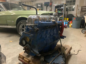 Ford 200 6 Cylinder Engine Rebuild W Extra Parts
