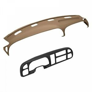 Coverlay 22 802c For Dodge Ram 98 02 Dash Board Cover 2 Piece Kit Light Brown