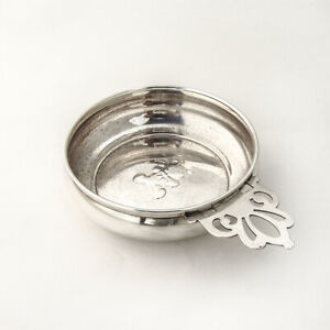 Teddy Bear Baby Bowl Porringer Key Hole Handle Lunt Sterling Silver