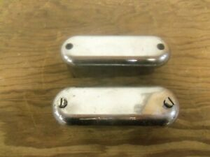 Vintage Chrome Air Breather Valve Cover Used