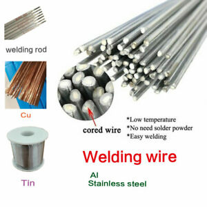 Aluminum Wire Brazing Solution Welding Flux cored Rods Low Temperature Welding