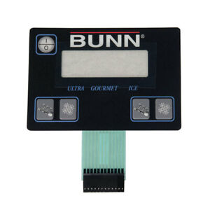 Bunn 32126 1004 Ultra 2 Membrane Switch