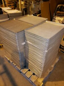 18 X 26 Aluminum Sheet Pans Perforated In Very Good Condition Lot Of 100
