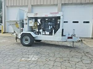 2007 Olin Concrete Pump 5 75ca For Sale Only 188 Hrs Excellent Condition