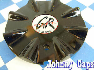Greight Rota Speed Wheels Black Custom Wheel Center Caps Center Cap 1