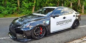 Lexus Isf Style Side Skirts For Lexus Is 250 Is 350 06 13