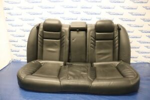 2016 Dodge Charger Scat Pack R t 392 Oem Leather Rear Seats crease 1211