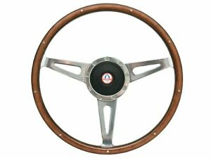 1968 1978 Mustang Shelby Style Steering Wheel Kit W Hub Ford Cobra Emblem