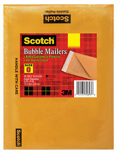 Scotch 7913 6 X 9 Cushioned Mailer 5 Count Pack Of 10