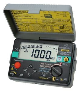 Kyoritsu 3023a digital Insulation Continuity Tester