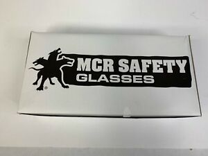 Mcr Safety Cl010 Checklite Safety Glasses Clear Lens Uncoated Lot Of 10