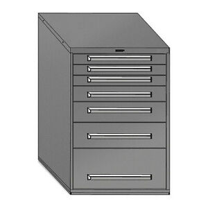 Equipto 4414 01 lg Mod Drawer Cabinet W Divider 30 lg
