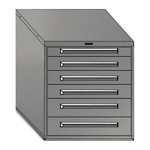 Equipto 4433 lg Mod Drawer Cabinet W o Dividers 30 lg