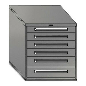 Equipto 4433 gn Mod Drawer Cabinet W o Dividers 30 gn