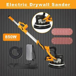 850w Drywall Sander 5 speed Adjustable Speed With Integrated Vacuum System