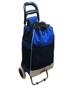 Loadrunner Blue Shopping Grocery Foldable Cart