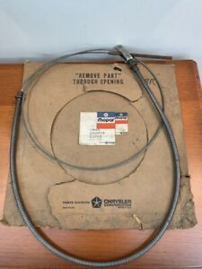 Nos 1968 1970 68 69 70 Plymouth Road Runner Satellite Gtx Parking Brake Cable