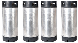 4 Pack Of 5 Gallon Pin Lock Kegs Reconditioned Homebrew Beer Free Shipping