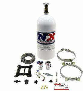 Nitrous Express Mainline Carb Nitrous Kit W 10lb Bottle