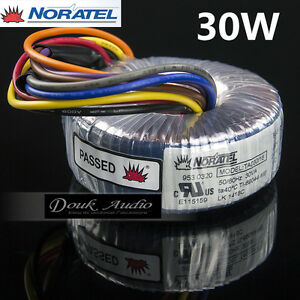 Noratel 30va Power Toroidal Transformer Dual 15v 18v For Headphonamplifier Dac