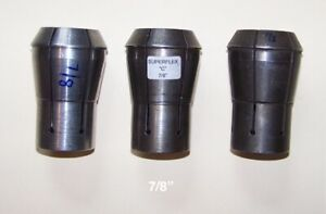 Cincinnati Toolmaster Monoset Superflex Collet 7 8 3 Available