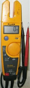 T5 600 Voltage Ac dc Ohms 100 Amp Tester Non Clamping Type