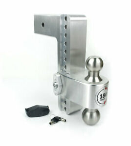 Weigh Safe Ltb8 3 180 Hitch 8 Drop For 3 Receiver 2 2 5 16 Stainless