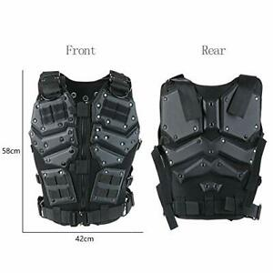 ActionUnion Airsoft Tactical Vest Military Costume Molle Chest Protectors Gilet $79.74