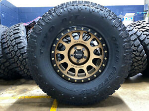 5 17x8 5 Method Mr305 Nv Bronze Wheels Rims 35 Toyo Tires 5x5 Jeep Wrangler Jl