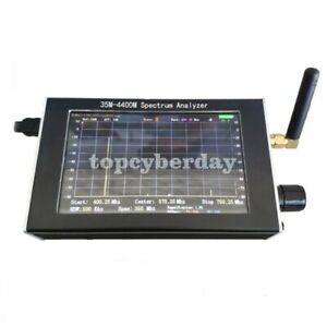 35m 4400m Handheld Simple Spectrum Analyzer 4 3 Tft Color Lcd Display Usb Power