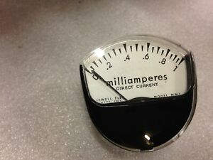 Honeywell Milliamperes Direct Current Panel Meter Model Mm1 k44a