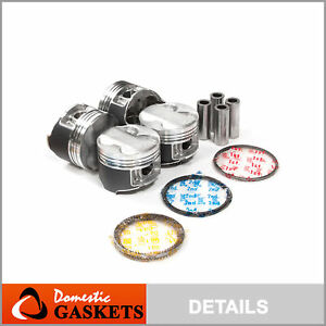 Pistons And Rings Fit Acura Integra Type R Vtec 1 8l B18c5