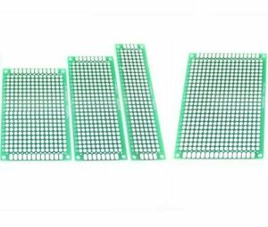 1 5 10pcs Double Side Prototype Pcb Bread Board Tinned Universal 2x8cm 9x15cm