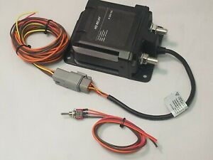 High Amp Battery Disconnect Hot Rod Or Muscle Car 300 Amp Remote Switch