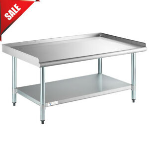 30 X 48 Stainless Steel Table Commercial Mixer Grill Heavy Equipment Stand New