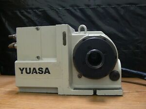 Yuasa Udx 1300 Rotary Table Indexer 5c With Pneumatic Collet Closer