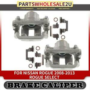 2x Rear Left Right Brake Calipers For Nissan Rogue 08 13 Rogue Select 14 15 L4
