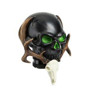 Black Skull Resin Car Truck Manual Gear Munt Shift Knob Shifter Lever Custom