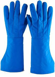Cryogenic Gloves Low Temperature Resistant Cold Proof Nitrogen Protective Gloves