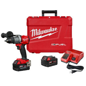 Milwaukee M18 Fuel 1 2 In Hammer Drill Kit 2804 82 Recon