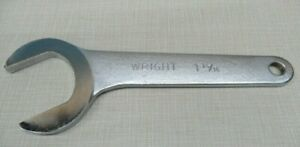 Wright 1458 Satin Finish 30 Degree Angle Service Wrench 1 13 16 Inch Made In Usa