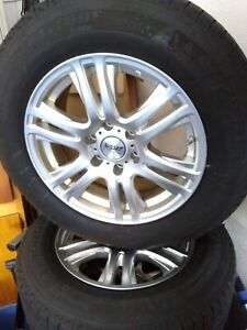 Trailblazer Ss chevrolet Truck Aluminum Wheels With Michelin X Ice Snow Tires