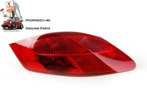 New Genuine Porsche 987 Boxster Cayman Rear Red Tail Light Left N S 98704490001